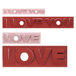 Lifestyle Crafts - Die Cutting Template - Love Pop-ups