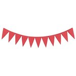 Lifestyle Crafts - Cookie Cutter Dies - Border - Pennants
