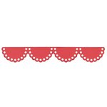Lifestyle Crafts - Cookie Cutter Dies - Border - Lace Scallop