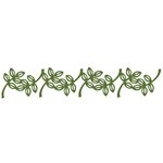 Lifestyle Crafts - Cookie Cutter Dies - Border - Leaf