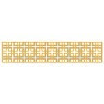 Lifestyle Crafts - Cookie Cutter Dies - Border - Lattice