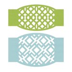 Lifestyle Crafts - Cookie Cutter Dies - Tile Belly Band Inserts