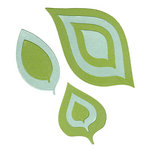 Lifestyle Crafts - Quickutz - Cookie Cutter Dies - Nesting Leaves
