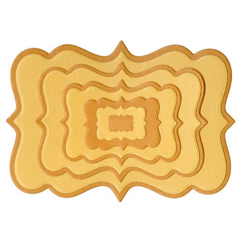 Lifestyle Crafts - Quickutz - Cookie Cutter Dies - Nesting Frame 3