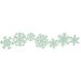 Lifestyle Crafts - Die Cutting Template - Christmas - Snowflake Border