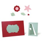 Lifestyle Crafts - Cookie Cutter Dies - Card and Photo Easel