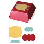 Lifestyle Crafts - Quickutz - Cookie Cutter Dies - Hamburger Box
