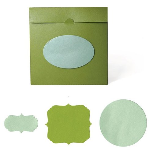 Lifestyle Crafts - Quickutz - Cookie Cutter Dies - Disc Envelope