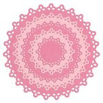 Lifestyle Crafts - Quickutz - Die Cutting Template - Nesting Doily Circles