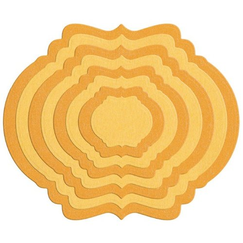 Lifestyle Crafts - Quickutz - Cookie Cutter Dies - Nesting Frame 9