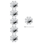 Lifestyle Crafts - Die Cutting Template - Spiderweb Punches