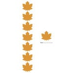Lifestyle Crafts - Die Cutting Template - Leaf Punches