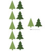 Lifestyle Crafts - Christmas - Die Cutting Template - Evergreen Punches