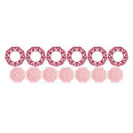 Lifestyle Crafts - QuicKutz - Die Cutting Template - Doily Punches