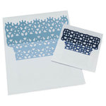 Lifestyle Crafts - Die Cutting Template - Doily Envelope Liners