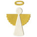 Lifestyle Crafts - Christmas - Die Cutting Template - Angel