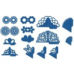 Lifestyle Crafts - QuicKutz - It Kits - Cookie Cutter Dies - Corner