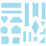 Lifestyle Crafts - It Kits - Cookie Cutter Dies - Tape
