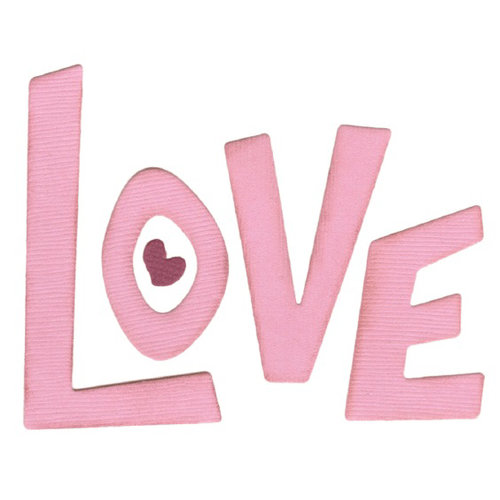 Lifestyle Crafts - Die Cutting Template - Love Letters