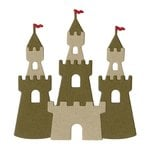 Lifestyle Crafts - Die Cutting Template - Sand Castle