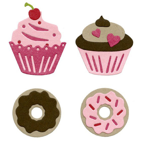 Lifestyle Crafts - Die Cutting Template - Baked Goods