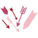 Lifestyle Crafts - Die Cutting Template - Arrows