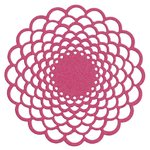 Lifestyle Crafts - Die Cutting Template - Floral Doily