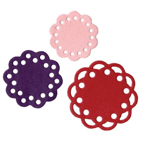 Lifestyle Crafts - Die Cutting Template - Scallop Doilies