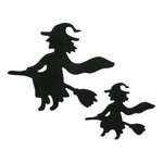 Lifestyle Crafts - Halloween - Die Cutting Template - Witches