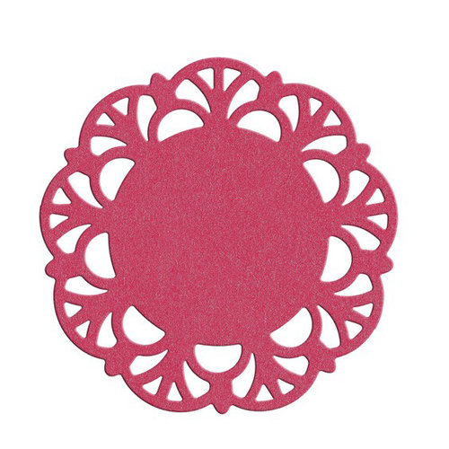 Lifestyle Crafts - QuicKutz - Die Cutting Template - Lattice Doily
