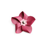 Lifestyle Crafts - QuicKutz - Die Cutting Template - Flower Pinwheel
