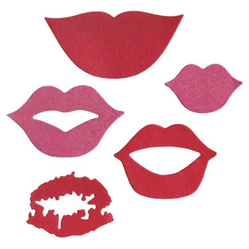 Lifestyle Crafts - Die Cutting Template - Lips