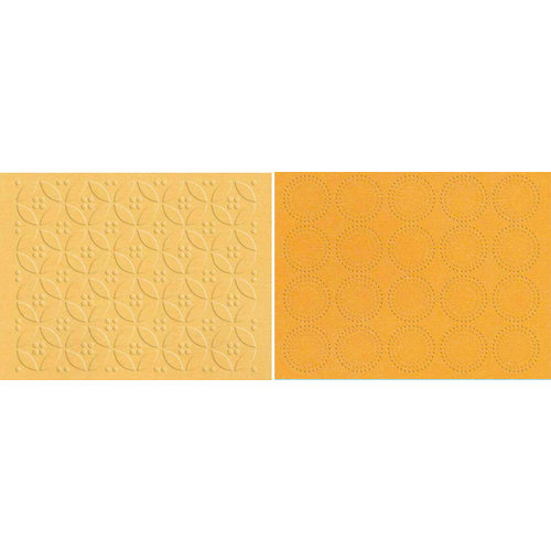 Lifestyle Crafts - QuicKutz - Embossing Folders - Dainty