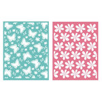 Lifestyle Crafts - QuicKutz - Embossing Folders - Springtime