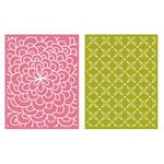 Lifestyle Crafts - QuicKutz - Embossing Folders - Bloom