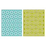 Lifestyle Crafts - GooseBumpz Embossing Folders - Tile