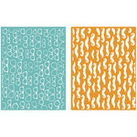 Lifestyle Crafts - GooseBumpz Embossing Folders - Fellow