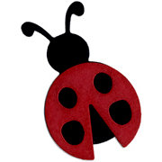 QuicKutz - Basic Shapes Dies - Ladybug