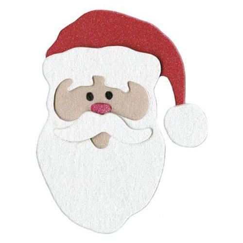Lifestyle Crafts - Die Cutting Template - Christmas - Santa
