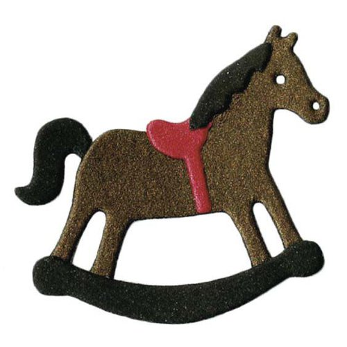 Lifestyle Crafts - Die Cutting Template - Christmas - Rocking Horse
