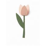 QuicKutz - Revolution - 2 x 2 Shape Dies - Tulip, CLEARANCE