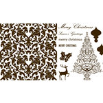 QuicKutz - Letterpress - Printing Plate Set 3 - Holiday
