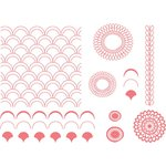 Lifestyle Crafts - Letterpress - Printing Plate Set - Petals