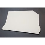 Lifestyle Crafts - Letterpress - Paper - 12 x 12 Flat - Thin - Cream