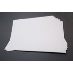 Lifestyle Crafts - Letterpress - Paper - 12 x 12 - Thick - White
