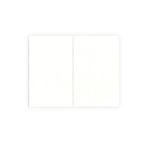 QuicKutz - Letterpress - Paper - Mini Fold - White