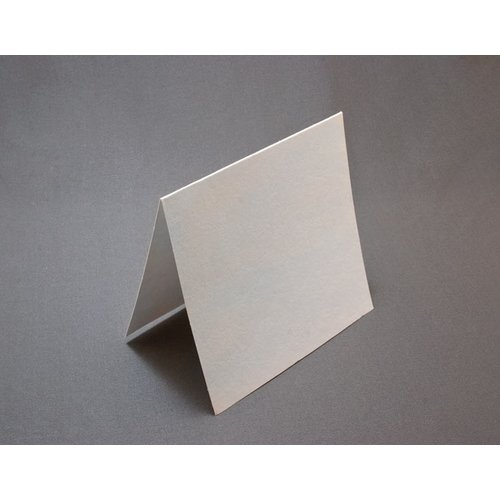 Lifestyle Crafts - Letterpress - Paper - Square Fold - White