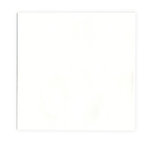 QuicKutz - Letterpress - Paper - Square Flat - White