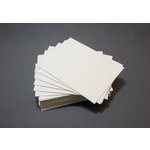 Lifestyle Crafts - Letterpress - Paper - A2 Flat - Thick - Cream