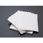 Lifestyle Crafts - Letterpress - Paper - A7 Flat - Thick - White